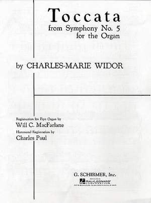 Charles-Marie Widor: Toccata (from Symphony No. 5)