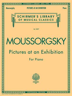 Modest Mussorgsky: Pictures at an Exhibition (1874)