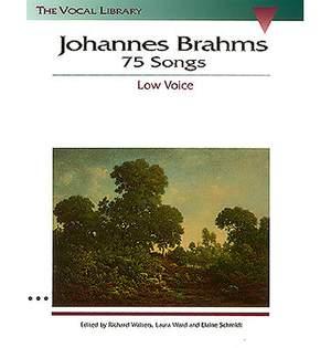 Johannes Brahms: 75 Songs - Low Voice