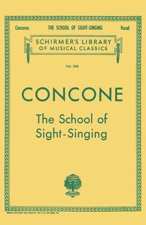 Joseph Concone: School of Sight-Singing