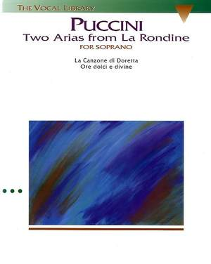 Giacomo Puccini: Puccini: Two Arias from La Rondine Product Image