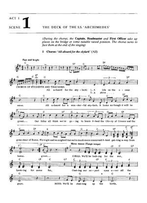 Geoffrey Brace: All Aboard Libretto/Melody Part