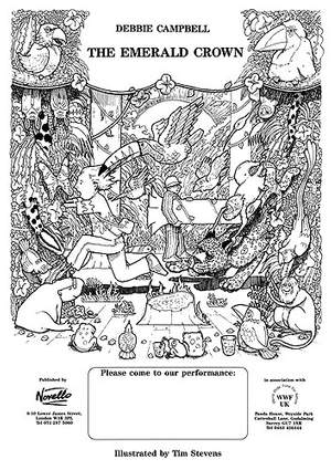 Debbie Campbell: The Emerald Crown Concert Posters (Pack of 5)