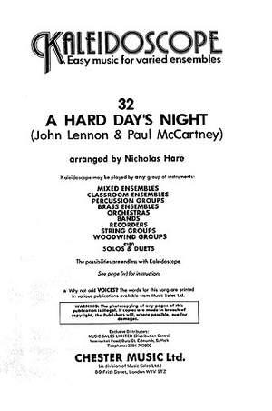 Nicholas Hare: Kaleidoscope: A Hard Day's Night