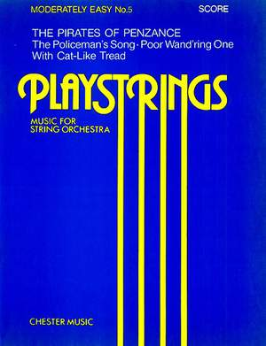 Arthur Seymour Sullivan: Playstrings Moderately Easy No. 5