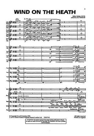 Mike Gibbs: Big Band Jazz No. 1 Gibbs