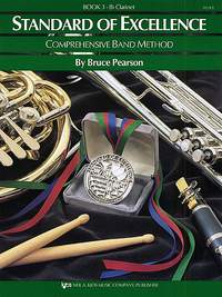B. Pearson: Standard Of Excellence 3 (Clarinet)