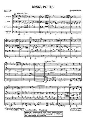 Joseph Horovitz: Brass Polka