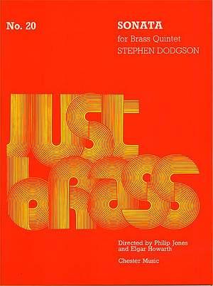Stephen Dodgson: Sonata For Brass Quintet