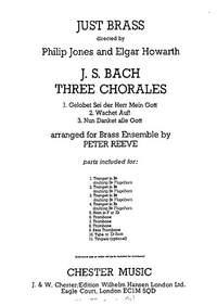 Johann Sebastian Bach: Three Chorales