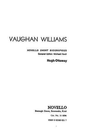 Ralph Vaughan Williams: Vaughan Williams: Novello Short Biography