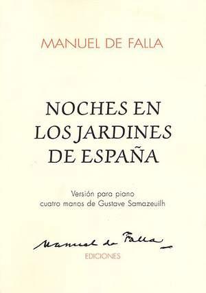 Manuel de Falla: Noches En Los Jardines De Espana