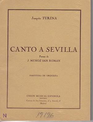 Joaquín Turina: Canto A Sevilla