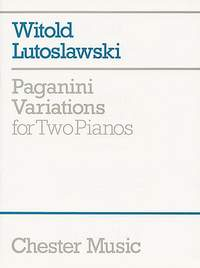 Witold Lutoslawski: Paganini Variations For Two Pianos