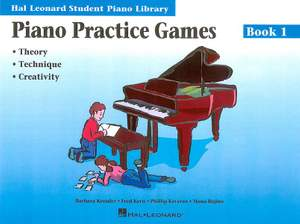 Barbara Kreader: Piano Practice Games Book 1