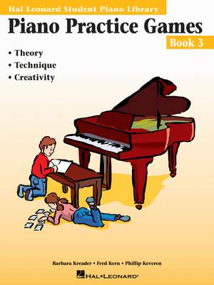 Barbara  Kreader: Piano Practice Games Book 3