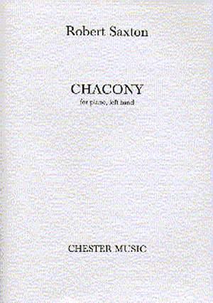 Robert Saxton: Chacony For Piano, Left Hand