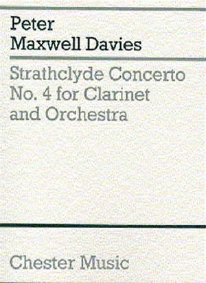 Peter Maxwell Davies: Strathclyde Concerto No. 4 (Miniature Score)