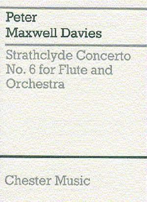 Peter Maxwell Davies: Strathclyde Concerto No. 6 (Miniature Score)