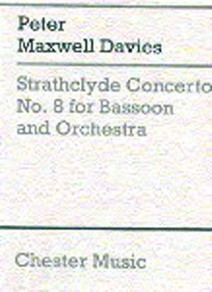 Peter Maxwell Davies: Strathclyde Concerto No. 8 (Miniature Score)