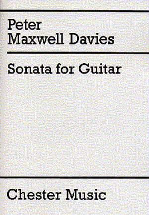 Peter Maxwell Davies: Sonata For Guitar