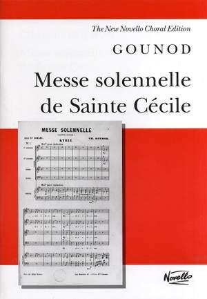 Charles Gounod: Messe Solennelle De Sainte Cécile Product Image