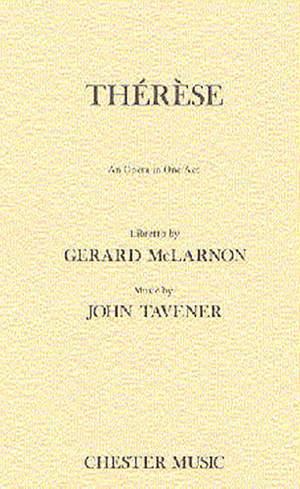 John Tavener: Therese Libretto
