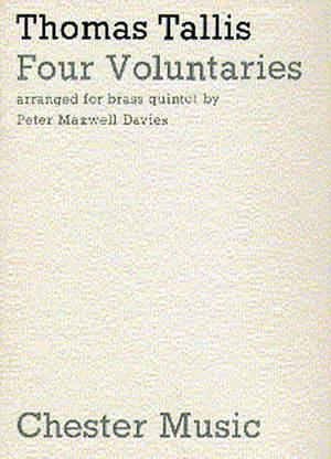 Thomas Tallis: Four Voluntaries