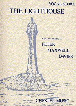 Peter Maxwell Davies: The Lighthouse Vocal Score