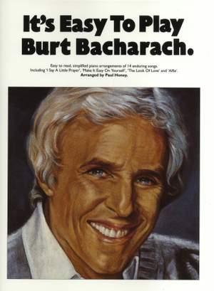 Burt Bacharach: It's Easy To Play Burt Bacharach