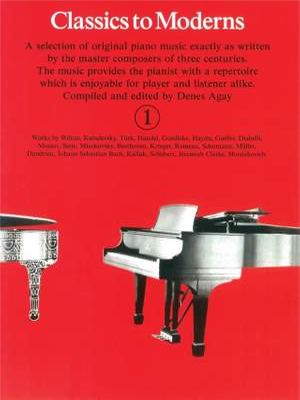 Denes Agay: Classics To Moderns 1