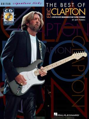 The Best Of Eric Clapton: Signature Licks Product Image