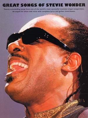 Stevie Wonder: The Great Songs Of Stevie Wonder
