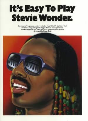 Stevie Wonder: It's Easy To Play Stevie Wonder