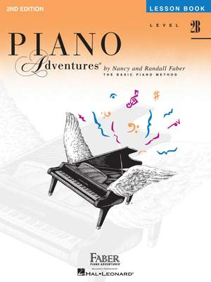 Piano Adventures: Lesson Book - Level 2B Product Image