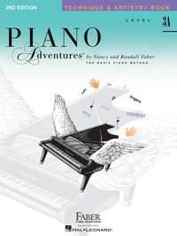 Piano Adventures: Technique & Artistry Book - Level 3A