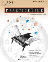 Piano Adventures: Practice Time Assignment Book