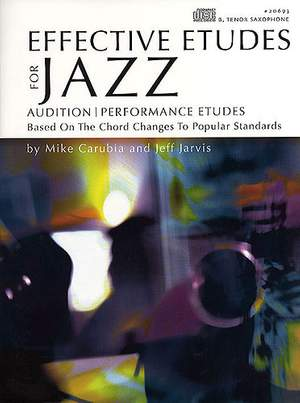 Mike Carubia_Jarvis: Effective Etudes For Jazz, Vol.1 - Tenor Sax