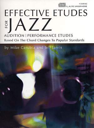 Mike Carubia_Jarvis: Effective Etudes For Jazz, Vol.1 - Alto Sax