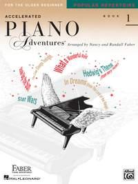 Accelerated Piano Adventures: Popular Repertoire Book 1