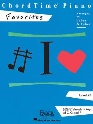 ChordTime Piano Favorites Level 2B Product Image