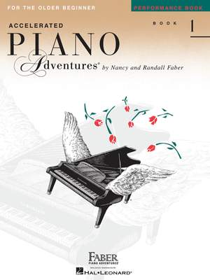 Accelerated Piano Adventures: Performance Book 1 Product Image