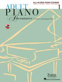 Adult Piano Adventures: All-In-One Lesson Book 1
