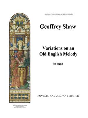 Geoffrey Shaw: Variations On An Old English Melody (Heartsease)