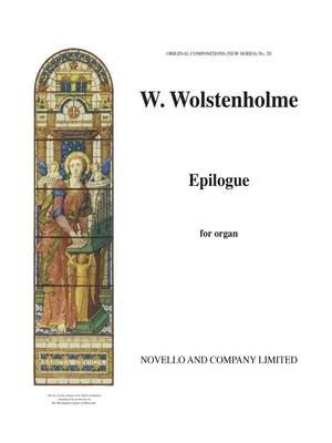 William Wolstenholme: Epilogue Organ