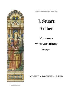 J. Stuart Archer: Romance With Variations Organ