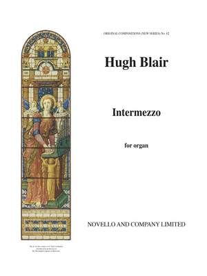 Hugh Blair: Intermezzo Organ