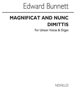Edward Bunnett: Magnificat And Nunc Dimittis In A
