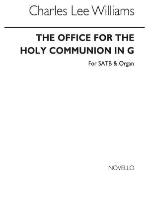 C. Lee Williams: The Office For Holy Communion In G