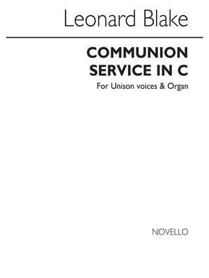 Leonard Blake: Communion Service In C Latin And English